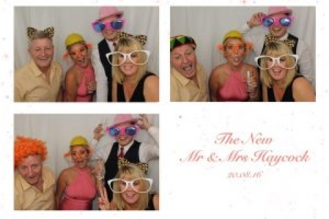 Great Time At Lea Marston Farm For The New Mr & Mrs Haycock.
