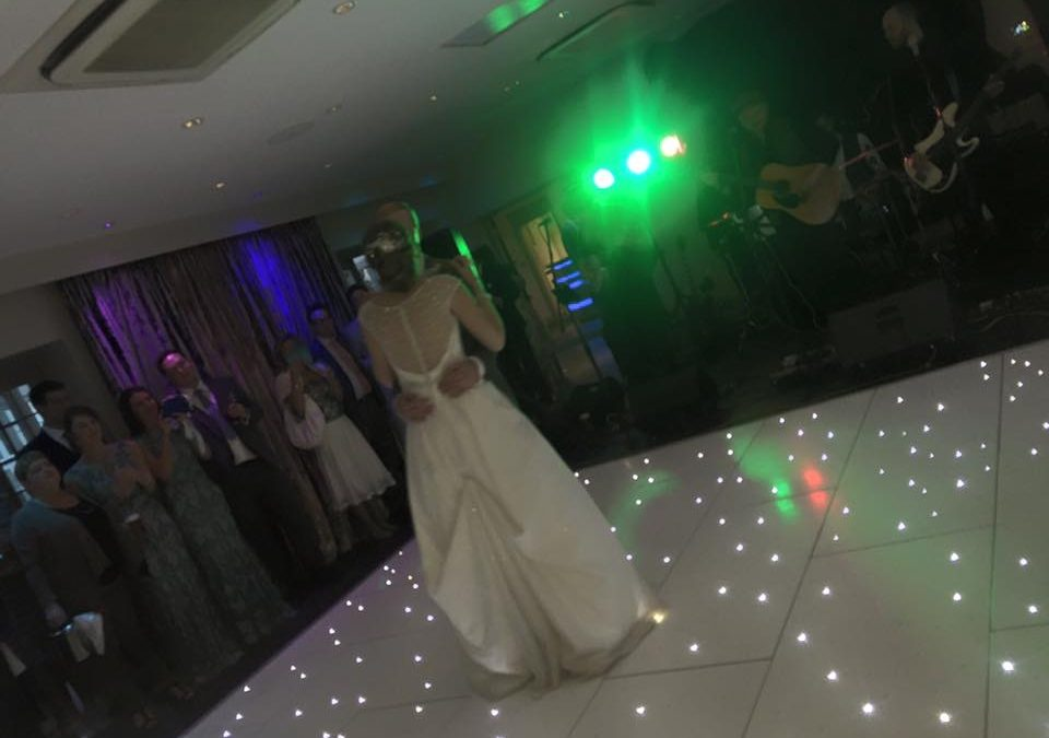 Led Dancefloor Wows Birmingham Wedding