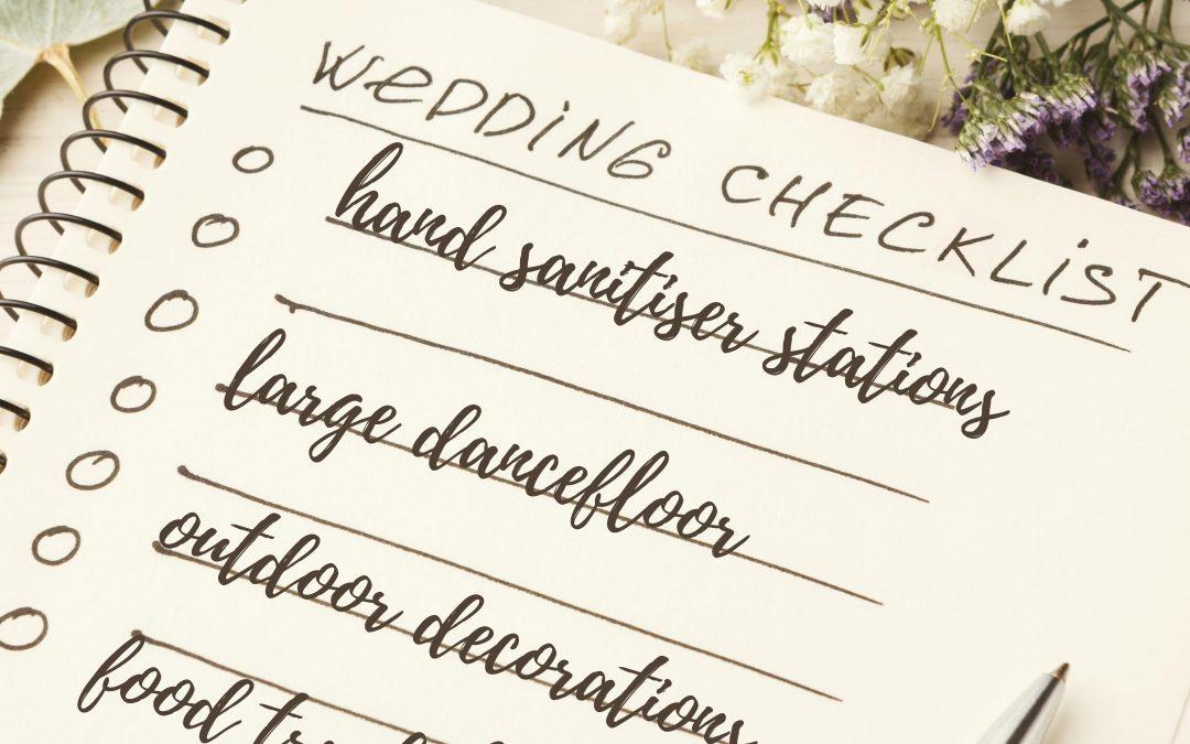 Wedding Planning After Coronavirus